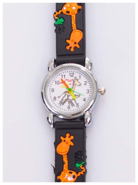 Kolorowy zegarek dziecięcy na wygodnym silikonowym pasku                                  zdj.                                  1