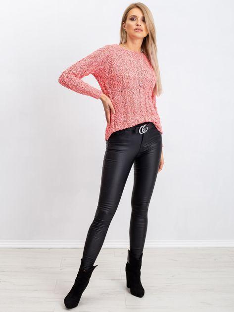 Koralowy sweter Ursula                              zdj.                              4