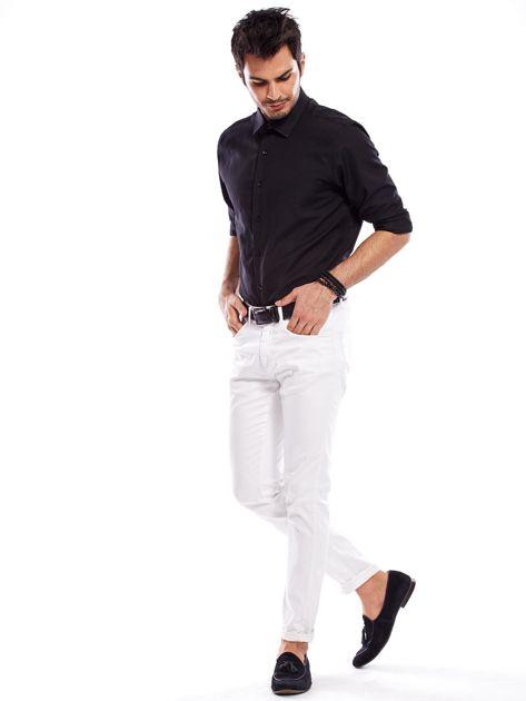 Koszula męska czarna regular fit                              zdj.                              8