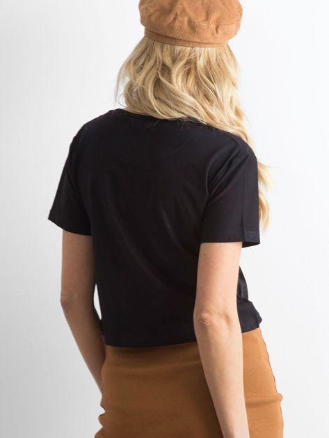 Koszulka damska czarna                              zdj.                              2
