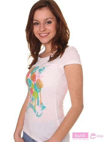 Koszulka z nadrukiem                                  zdj.                                  4