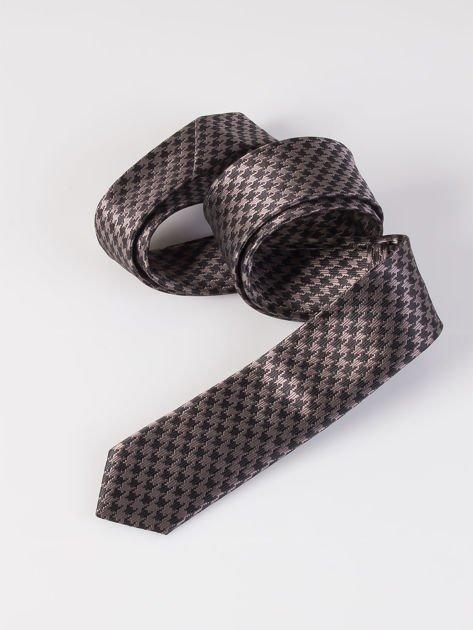 Krawat męski we wzory wielokolorowy                              zdj.                              9