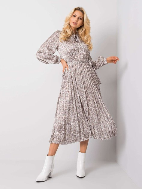 Kremowa sukienka Anita RUE PARIS