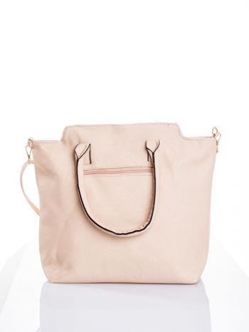 Kremowa torba shopper bag                                  zdj.                                  3