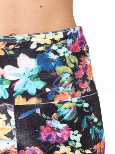Kwiatowe legginsy z wysokim stanem                                  zdj.                                  5