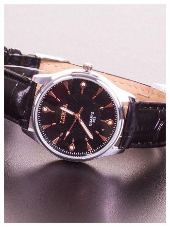 LONDA Męski zegarek z cyrkoniami. Niby klasyczny, za to te cyrkonie... urok w czystej postaci                                  zdj.                                  2