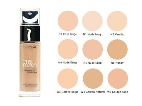 L'Oreal Podkład True Match N1 Nude Ivory 30 ml                              zdj.                              2