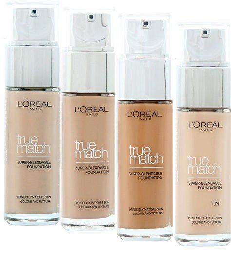 L'Oreal Podkład True Match N1 Nude Ivory 30 ml                              zdj.                              3