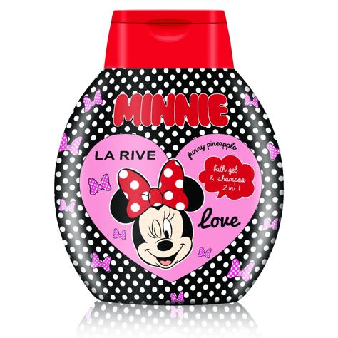 """La Rive Disney Love Minnie Szampon i żel do kąpieli  2w1  250ml"""""""