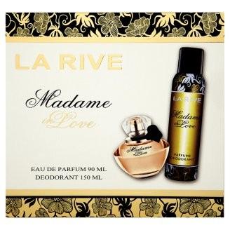 "La Rive La Rive for Woman Madame In Love Zestaw /edp90ml+deo150ml/"""