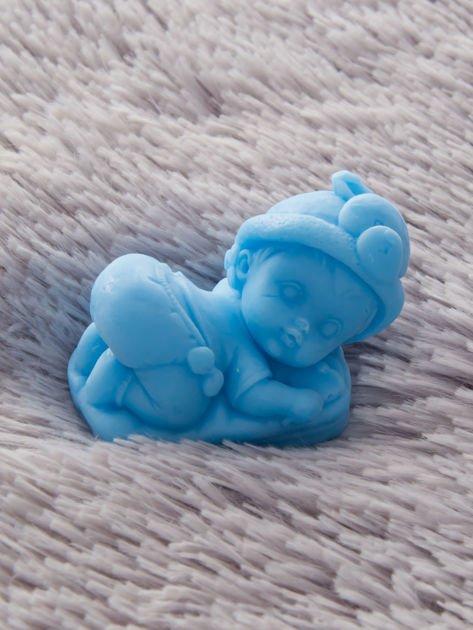 LaQ Mydełko Bobas na poduszce - niebieski                              zdj.                              1