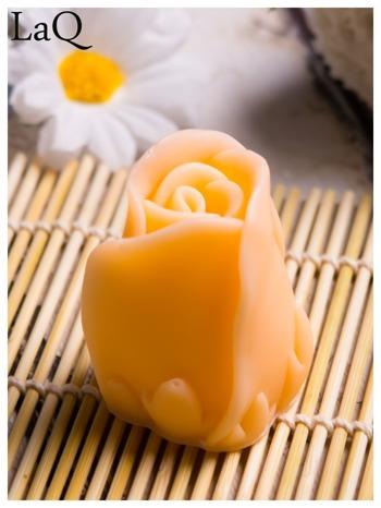 LaQ Mydełko Kwiat róży - pomarańczowy / Zapach - brzoskwinia BEZ SLS i SLES                                  zdj.                                  1