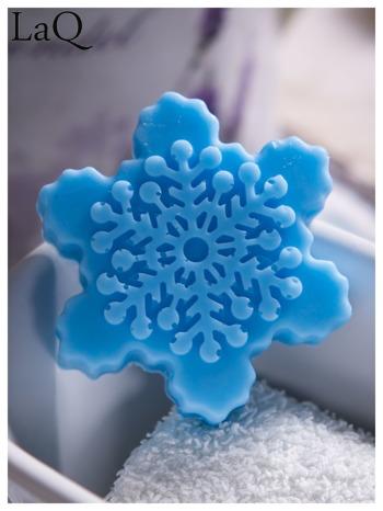 LaQ Mydełko Śnieżynka - niebieski / Zapach - wata cukrowa BEZ SLS i SLES                                  zdj.                                  1