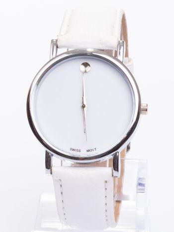 Ładny biały zegarek damski                                   zdj.                                  2