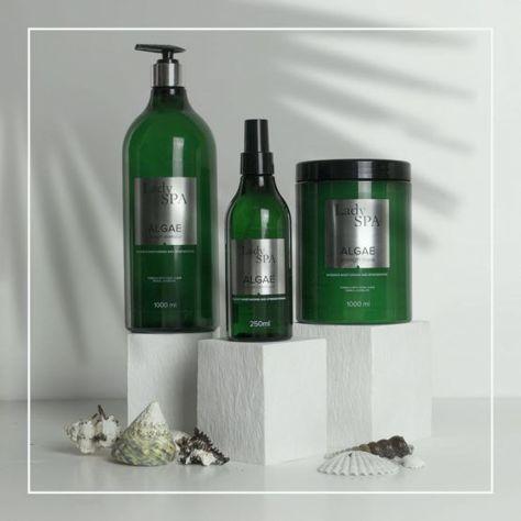 Lady Spa ALGAE Strength Naprawczy szampon do włosów 1000 ml                              zdj.                              3
