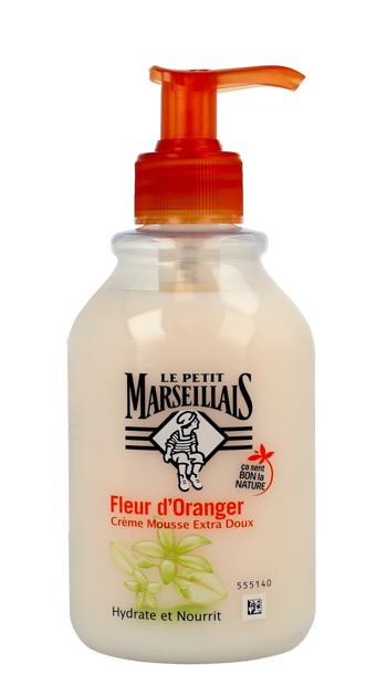 Le Petit Marseillais Kremowe Mydło w płynie Pomarańcza 300 ml