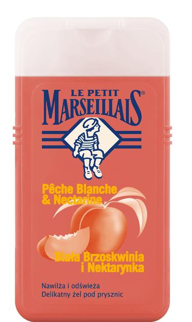 """Le Petit Marseillais Żel pod prysznic Biała Brzoskwinia-Nektarynka  250ml"""""""