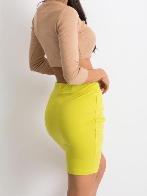 Limonkowa spódnica Increasingly                              zdj.                              2