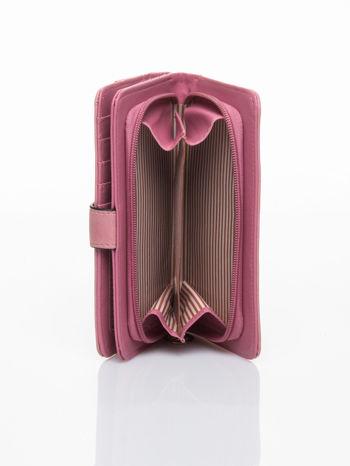 Łososiowy portfel z plecionką                                  zdj.                                  5
