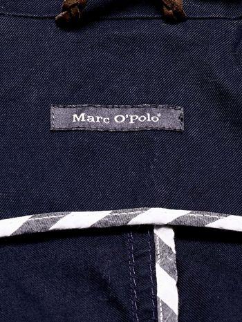 MARC O'POLO Granatowa dwurzędowa kurtka męska                                  zdj.                                  4