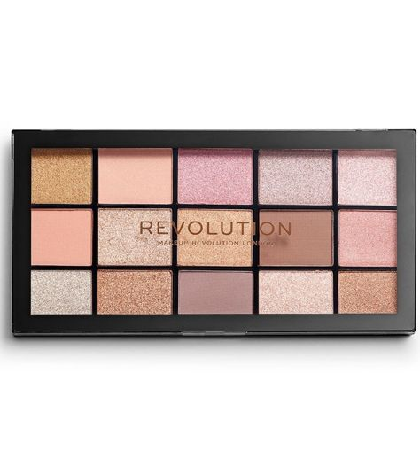 Makeup Revolution Re-Loaded Paleta cieni do powiek Fundamental 16,5 g