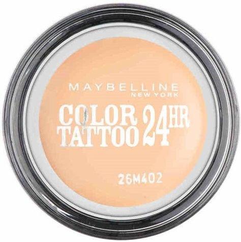Maybelline Color Tattoo CREAMY MATTES matowy cień do powiek w kremie 93 Creme De Nude 4 ml                              zdj.                              1