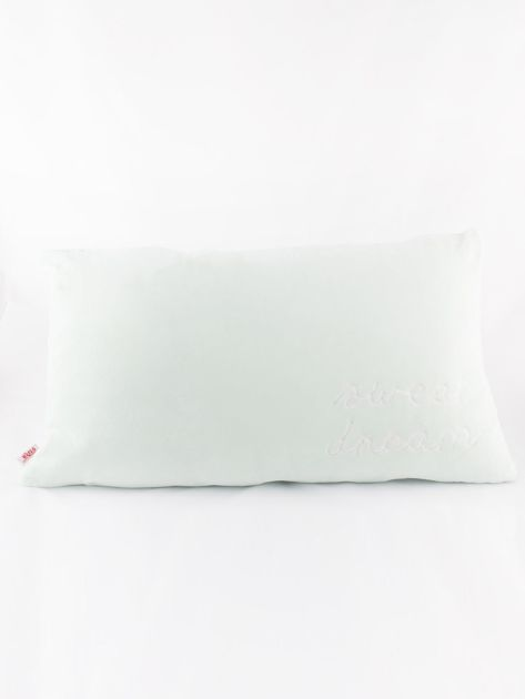 Miętowa podłużna poduszka                               zdj.                              5