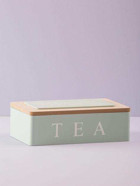 Miętowy pojemnik na herbatę                              zdj.                              3