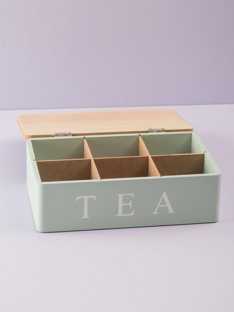 Miętowy pojemnik na herbatę                              zdj.                              2