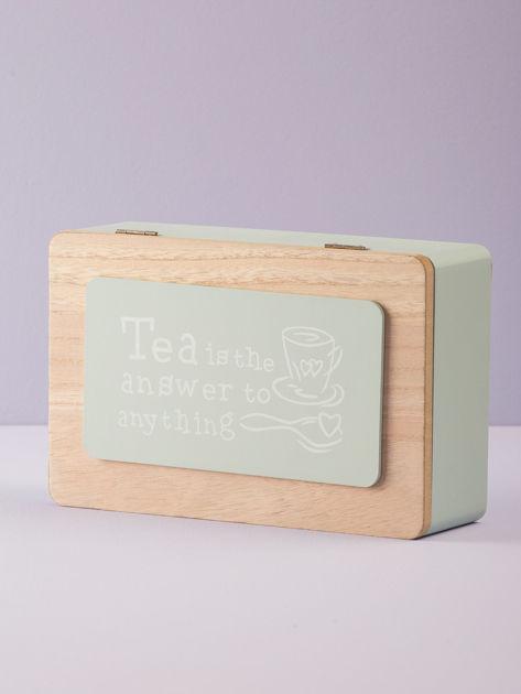 Miętowy pojemnik na herbatę                              zdj.                              7