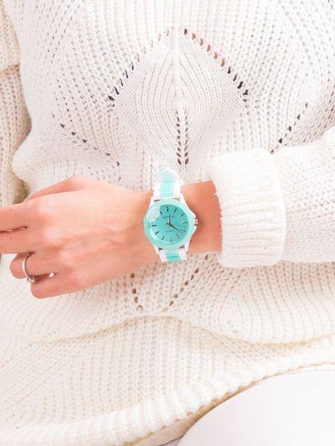 Miętowy zegarek damski                              zdj.                              4