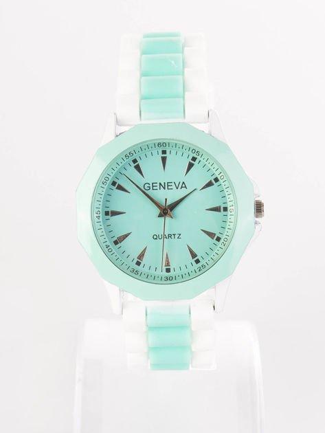 Miętowy zegarek damski                              zdj.                              1