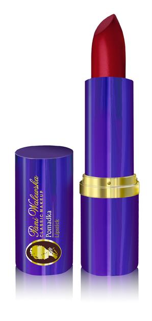 """Miraculum Pani Walewska Classic Makeup Pomadka do ust nawilżająca nr 36 Rubin  5g"""""""