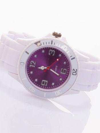 Modny zegarek damski na silikonowym pasku                                  zdj.                                  1