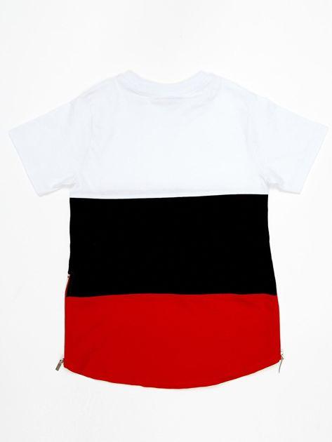 Modułowy t-shirt dziecięcy z suwakami                              zdj.                              6
