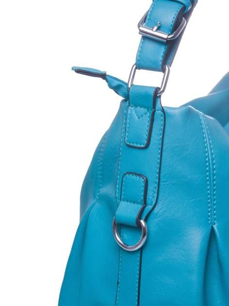 Morska torebka hobo na ramię                                  zdj.                                  3