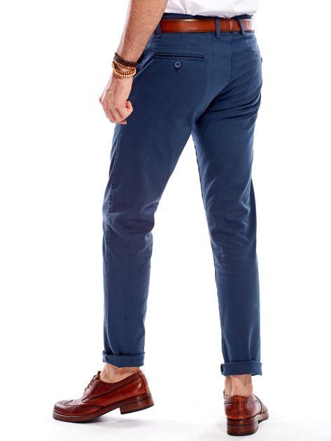 Morskie materiałowe spodnie męskie                              zdj.                              8