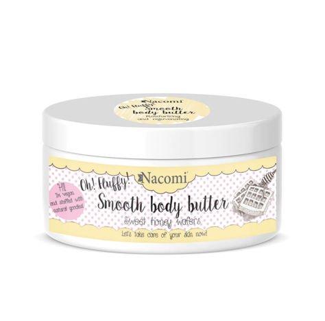 NACOMI Lekkie masło do ciała – Miodowe gofry, 100g                              zdj.                              1