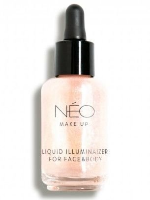NEO Make Up Nabłyszczacz do twarzy i ciała Liquid Illuminaizer for Face & Body 30 ml                              zdj.                              1