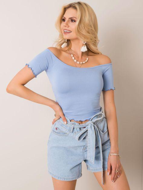 Niebieska bluzka Britney RUE PARIS