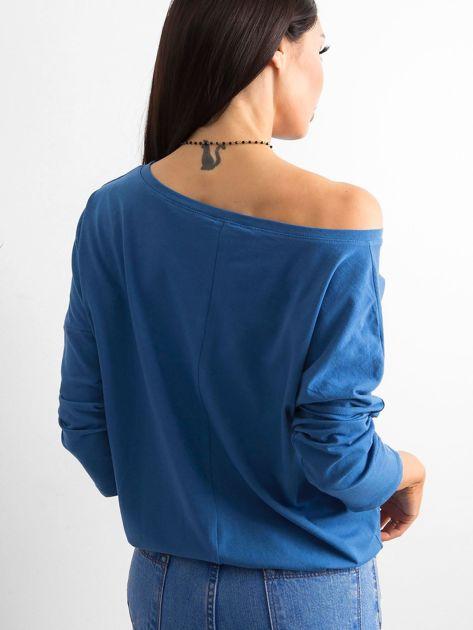 Niebieska bluzka Fiona                              zdj.                              2