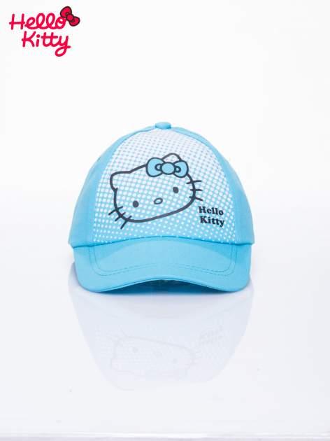 Niebieska czapka z daszkiem dla dziewczynki HELLO KITTY                                  zdj.                                  1