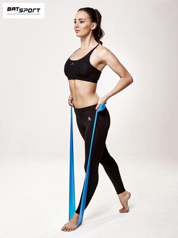 Niebieska guma do ćwiczeń poziom trudny