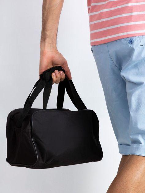 Niebieska męska torba na ramię                              zdj.                              2