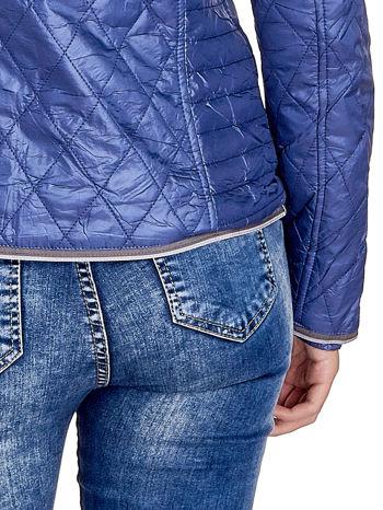 Niebieska pikowana kurtka typu husky                                  zdj.                                  7