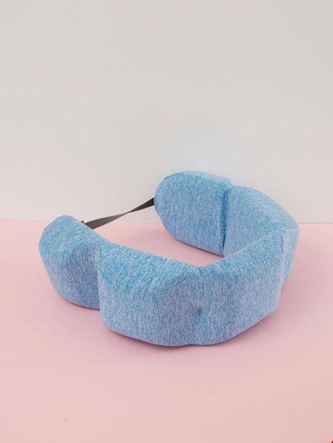 Niebieska poduszka pod plecy                              zdj.                              3