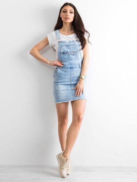 Niebieska spódnica Freshly                              zdj.                              4