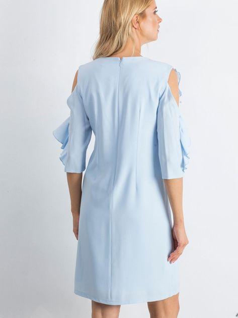 Niebieska sukienka Brilliance                              zdj.                              2