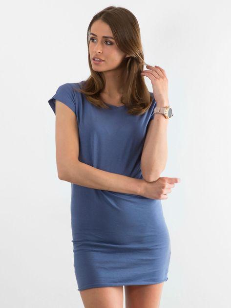 Niebieska sukienka Limousine                              zdj.                              1
