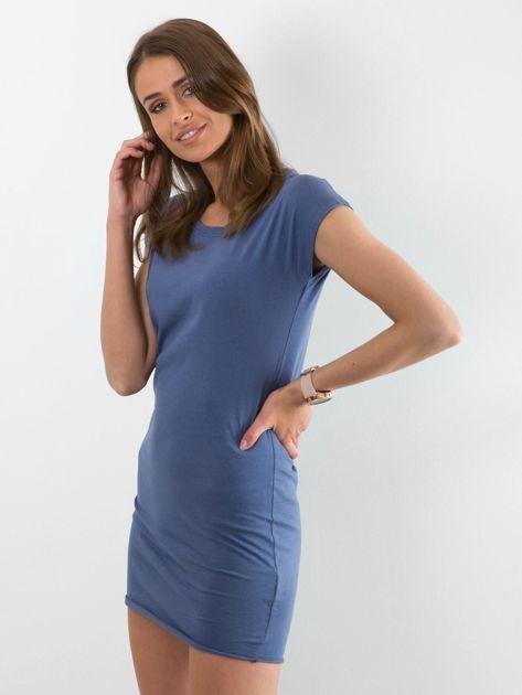 Niebieska sukienka Limousine                              zdj.                              3